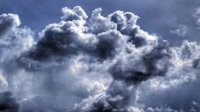 Clouds Closeup Photo